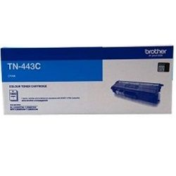 Brother TN-443C Cyan High Yield Toner Cartridge (Genuine)