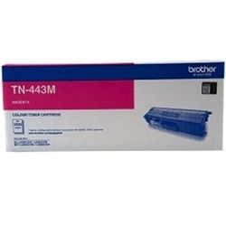 Brother TN-443M Magenta High Yield Toner Cartridge (Genuine)