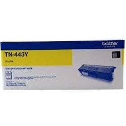 Brother TN-443Y Yellow High Yield Toner Cartridge (Genuine)