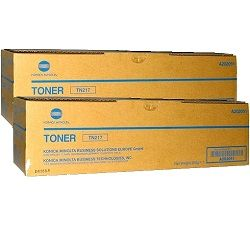 Konica Minolta TN217 2 Pack Bundle (A202051) (Genuine)