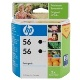 HP 56 2 Pack Bundle (Genuine)