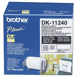 Brother DK-11241 Black on White (Genuine)